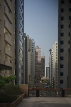 A look at the city from Park Hyatt Abu Dhabi.