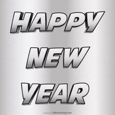 Free Silver Happy New Year Image Download Happy New Year Hd, Happy New Year Banner, Happy New Year Vector, Happy New Year Images, New Year Greeting Cards, New Year Greetings, New Years Poster, Vector Free Download, Free Silver