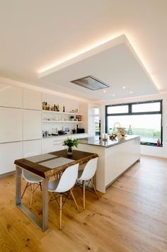 AuBergewohnlich Wohnzimmer Decke Indirekte Beleuchtung