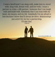 You searched for I want a best friend I can sleep with - Lessons Learned in Life Partner Quotes, Relationship Quotes, Relationships, Lessons Learned In Life Quotes, Life Lessons, Life Partners, Partners In Crime, Voyage Costa Rica, Travel Photography Tumblr