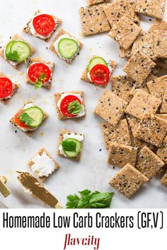 This low carb snack recipe for crackers is easy to make and perfect for the keto diet. Loaded with seeds and herbs, these crackers are gluten free, vegan, and are the ultimate keto snack recipe. Gluten Free Snacks, Keto Snacks, Gluten Free Recipes, Low Carb Recipes, Healthy Recipes, Fun Recipes, Healthy Treats, Healthy Life, Healthy Food