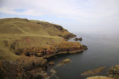 red Cliffs & St. Abbs Lighthouse - Borders