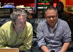 Carter Burwell and Bill Condon (photo by Mike Farrow)