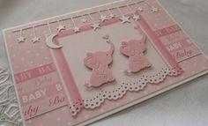Babykarte Zwillinge von Liebe Grüsse auf DaWanda.com