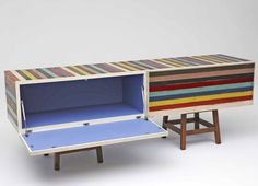 Brazilian designer Brunno Jahara of Jahara Studio has created a collection of furniture made using scrap wood.