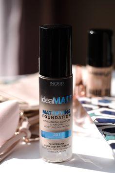 Mat Foundation, Makeup Set, Vodka Bottle, Minerals, Hair Beauty, Make Up, Cosmetics, Inspiration, Wax