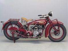 Indian 1929 Scout 101 750cc 2 cyl sv