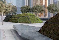 Galería - Arquitectura y Paisaje: patrones naturales y culturales proyectados en Sowwah Square por Martha Schwartz - 12