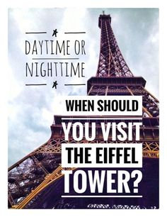 Things you didn't know about the Eiffel Tower and tips to increase romance. When should you visit the Eiffel Tower in Paris? Daytime vs Nighttime? #Travel PARIS: Eiffel in LOVE with Travel ~ www.acaponeconnection.com Travel Tips For Europe, Paris Travel Guide, Europe Destinations, Travel Guides, Paris Tips, Travel Info, Travel Hacks, Asia Travel, Eiffel Tower At Night