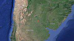 Disso Voce Sabia?: A queda de um objeto desconhecido causando tremor grave na Argentina