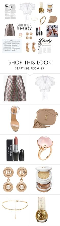 """Untitled #47"" by tracyrandolph30 ❤ liked on Polyvore featuring Miu Miu, Temperley London, YEEZY Season 2, Yves Saint Laurent, Goshwara, Chanel, Tom Ford, Whiteley and Gucci"