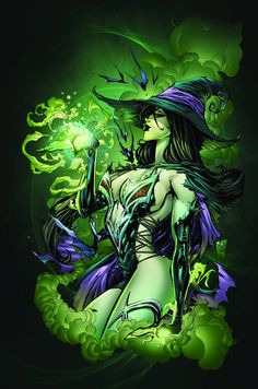 Grimm Fairy Tales presents Oz Issue - Read Grimm Fairy Tales presents Oz Issue comic online in high quality Fantasy Witch, Witch Art, Dark Fantasy, Fantasy Art, Marvel, Comic Books Art, Comic Art, Pin Up, Anime Pictures