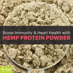 Hemp protein powder is not only a protein powerhouse, but it's also inherently loaded with other nutritional benefits.