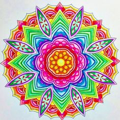 ColorIt Mandalas to Color Volume 1 Colorist: Marla Theodoro #adultcoloring #coloringforadults #mandalas #mandala #coloringpages