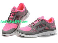 Nike Free 3 Pink Gray For Women Running Shoe