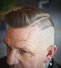 Check out these classic and modern hard part haircuts. The shaved part works with all kinds of men's hairstyles and hair types. Here's how to get the look. Modern Mens Haircuts, Modern Hairstyles, Haircuts For Men, Hard Part Haircut, Side Part Haircut, Shaved Side Haircut, Tapered Haircut, Curly Hair Men, Curly Hair Styles