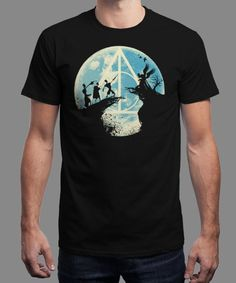 """""""Three Brothers Fairytale"""" is today's £8/€10/$12 tee for 24 hours only on www.Qwertee.com Pin this for a chance to win a FREE TEE this weekend. Follow us on pinterest.com/qwertee for a second! Thanks:)"""