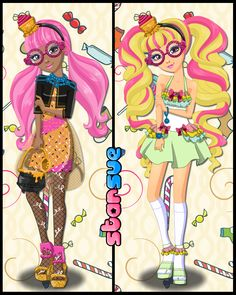 Ever After High Core Rebel Ginger Breadhouse Dress Up Game : http://www.starsue.net/game/Ginger-Breadhouse-Dress-Up.html Have Fun ♥-♥