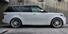 Tunerworks Range Rover Vogue 2013 on ADV5.2 Deep Concave >> available for rental in Cote d'Azur and Paris by Saintrop.com!