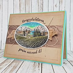 Wild About Vineyards by Amy Jasper with Tuscan Vineyards from Stampin Up! Www.inkingonthefly.com