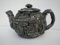 robo tea pot  by ~richardsymonsart  Traditional Art / Sculpture / Models©2009-2013 ~richardsymonsart