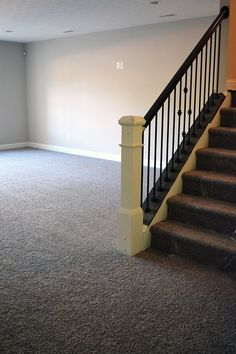 Get a great style and value on carpet for your home. Carpeting your basement can keep it warmer in the colder months! Man Cave Basement, Basement Carpet, Carpet Stairs, Basement Bars, Basement Ideas, Man Cave Art, Man Cave Home Bar, Modern Man Cave, Garage Guest House