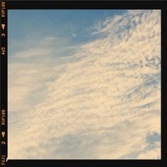 El cielo de una tarde de verano