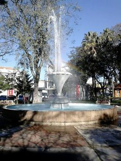 Chafariz na Praça Getúlio Vargas - Alegrete,RS