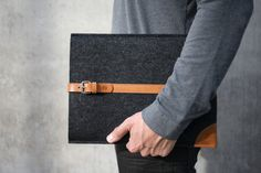 NEW MacBook Pro 13/ 15 Sleeve  Vegetable Tanned by CoconesStudio