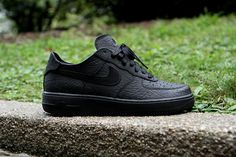 "Nike Air Force 1 ""Deconstruct"" - Black   KicksOnFire"