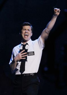 Andrew Rannells in The Book of Mormon