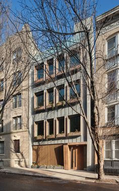 253 Pacific Street building in Brooklyn by James Cleary Architecture
