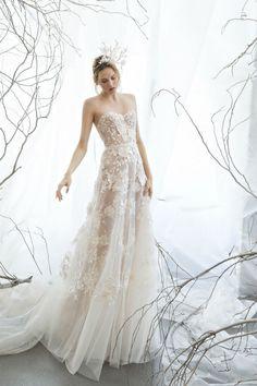 MIRA ZWILLINGER S/S 2017 WEDDING DRESSES www.elegantwedding.ca