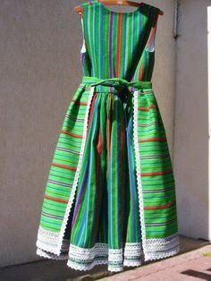Kurpie - Puszcza Biała (Whie Forest) costume, Poland.