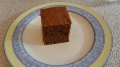 bizcocho chocolate sin azúcar ni huevos (con sirope de ágave)