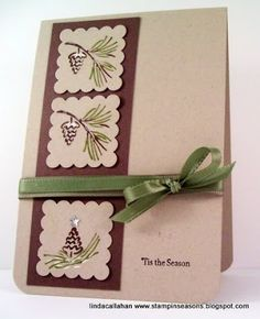 Stampin' Seasons: Yesterday and Today......CTS99, PPA18