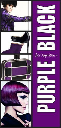 Purple Palette, Color Shades, Purple And Black, Color Boards, Colors, Colour Shades, In Living Color, Colour, Color