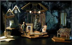 A Child's Christmas in Wales - Richard Finkelstein, Stage Designer