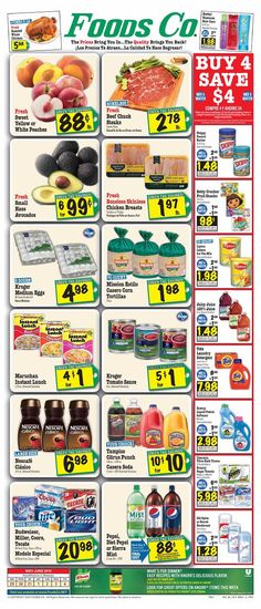 Foods Co 5/29 - 6/4 Weekly Deals & Coupon Matchups