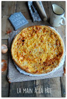 tarte alsacienne aux oignons et cumin