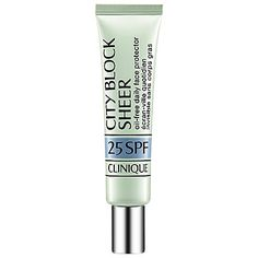 City Block Sheer Oil-Free Daily Face Protector SPF 25 - CLINIQUE | Sephora