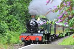 Severn Valley Railway - Take a ride through the countryside from Bridgnorth to Kidderminster #Bestinthecountry