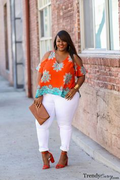 Plus Size Spring Fashion @Venus #VenusPlus #Sponsored