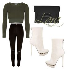 """"""""""" by omolaragbotosho on Polyvore featuring Giuseppe Zanotti, Topshop, River Island, Givenchy, women's clothing, women's fashion, women, female, woman and misses"""