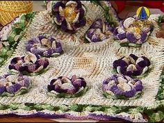 Sabor de Vida   Flores de Crochê - 18 de Abril de 2013