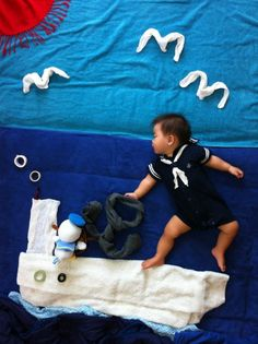 Japanese Babies Daydream Too! Creative Infant Art a la Mila's Daydreams SweepsJapan   RocketNews24
