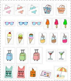 Madre mía!!! que afición le he cogido yo a esto de dibujar con la tableta... estoy que no paro!! :)  Hoy os traigo unas nuevas stickers muy ...