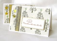 Christmas gift card holder Holidays gift card by designedbymarylou