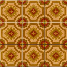 Vintage Tile | Retro Vintage Kitchen wallpaper