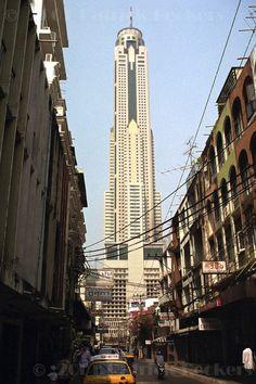 Baiyoke Tower II, Bangkok, Thailand via skyscraperpicture.com